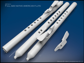 Native-America-Flute-Kit-Wind-Of-Life in Stainless Steel
