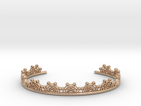 Lace Wrap Cuff - small in 14k Rose Gold
