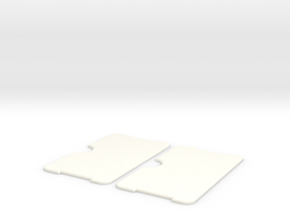 Minimalist Wallet  in White Strong & Flexible Polished