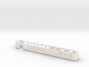 Wagenkasten Speisewagen EW III Scale TT 1/120 1-12 in White Processed Versatile Plastic