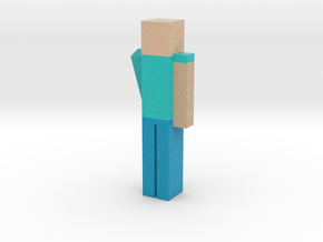 Mincraft Person in Full Color Sandstone