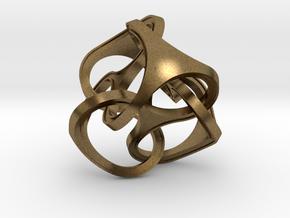 TET N TET 75mm in Natural Bronze