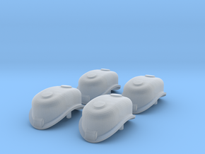 4PK N Scale Bachmann PRR K4 replacement Sand Dome  in Smoothest Fine Detail Plastic