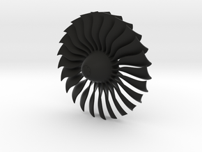 Turbine Alliance 80mm in Black Natural Versatile Plastic