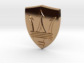 Maserati in Polished Brass