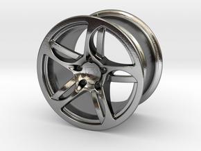 Wheel Lamborghini in Polished Silver