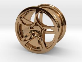 Wheel Lamborghini in Polished Brass