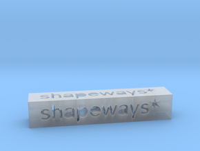 Shapeways Stick 1 - M in Smooth Fine Detail Plastic