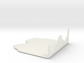 Liquid Chopping Board  in White Strong & Flexible