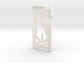 New Hampshire Legalize It IPhone 6s Case in White Processed Versatile Plastic