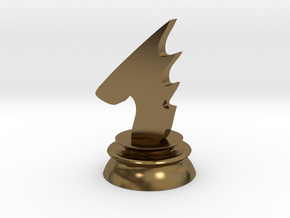 Avatar Knight in Polished Bronze