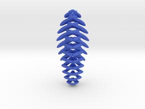 """string attached"" pendant in Blue Processed Versatile Plastic"