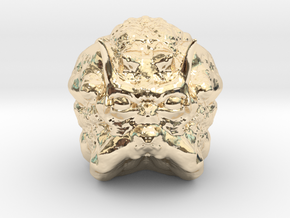 Space Critter in 14K Yellow Gold