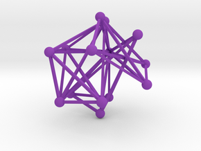 My Second Network in Purple Processed Versatile Plastic
