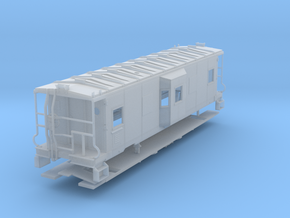 Sou Ry. bay window caboose - mod. Hayne - O scale in Frosted Ultra Detail
