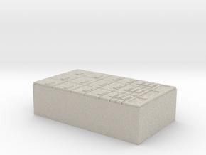 US Med Chest INSERT in Natural Sandstone