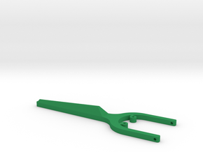 Re-usable Floss Holder in Green Processed Versatile Plastic