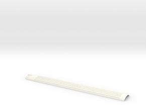 Dach Steuerwagen RB-Pendel Scale TT in White Processed Versatile Plastic