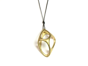Cobble in Polished Gold Steel