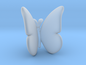 Butterfly 1 - L in Smooth Fine Detail Plastic