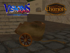 Chariot Bronze in Full Color Sandstone