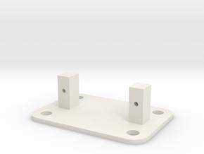 SG90 Servo Mount - Type 4  in White Natural Versatile Plastic