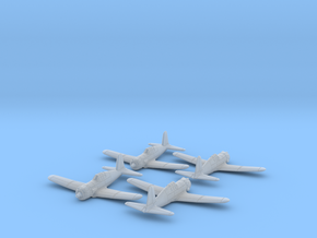 Vultee P-66 Vanguard 1/285 6mm Frosted Ultra x4 in Smooth Fine Detail Plastic