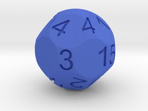 D15 for Impact! Miniatures in Blue Processed Versatile Plastic