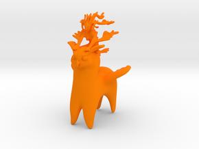 Ermaid Owlpaca Rider in Orange Processed Versatile Plastic