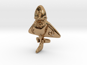 Vimana in Polished Brass