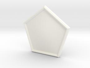 P-2 CHAM in White Processed Versatile Plastic