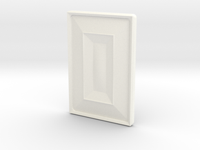 R-BASICCHAMPFERX22DOME in White Processed Versatile Plastic