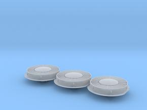 "FN0014 48"" 8 Blade Hub Fan 1/87.1 in Smoothest Fine Detail Plastic"