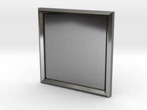 S-BASICCHAM in Fine Detail Polished Silver