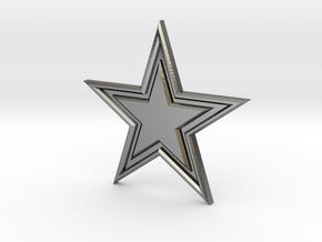 STAR-BASIC-1CHAMPERSTAR in Polished Silver