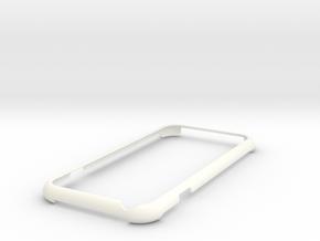 iPhone 6s minimalistic case in White Processed Versatile Plastic