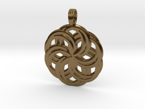 LIFE SPIRALS in Polished Bronze