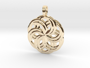 LIFE SPIRALS in 14k Gold Plated Brass