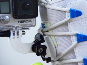 GoPro 90 Degree Angle (rotated) in White Natural Versatile Plastic