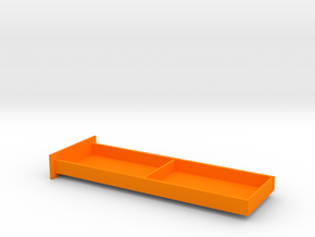 Senet Board Drawer Only Full Size in Orange Processed Versatile Plastic