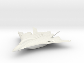 Flight aircraft carrier equipped with the Aegis in White Natural Versatile Plastic