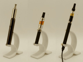 E-Cig Cradle: The Barcelona in White Natural Versatile Plastic