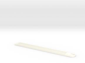 Dach Steuerwagen Abde MThB Scale TT 1:120 1/120 1- in White Processed Versatile Plastic