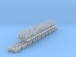 1:48 beer/soda - 10 (x12) crates 120 bottles in Frosted Ultra Detail