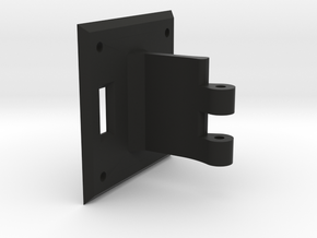 Passive Hinge in Black Natural Versatile Plastic