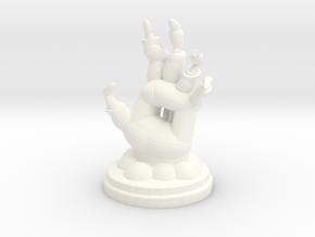 Zombie Pawn in White Processed Versatile Plastic
