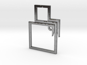 SQUARE-TC in Polished Silver