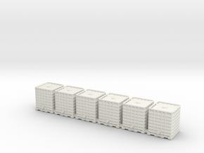 Rainwater tank.HO Scale (1:87) in White Natural Versatile Plastic