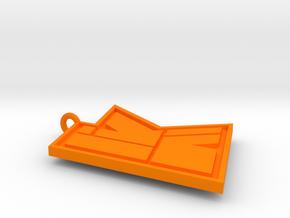 KwebbelkopLogo in Orange Strong & Flexible Polished