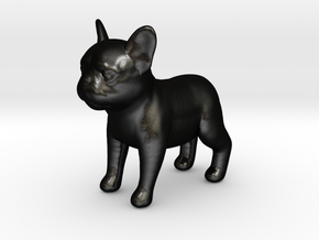 French Bulldog :D in Matte Black Steel